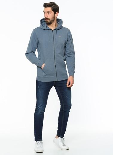 Fermuarlı Kapüşonlu Sweatshirt-Vans